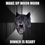 wake up moon moon