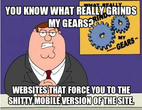 What really grinds my gears?