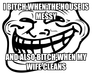 i bitch when the house is messy