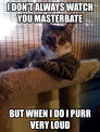 i don't always watch you masterbate